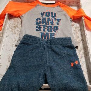 Under Armour Infant Boy Matching Set